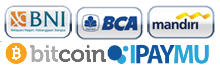 BCA, Mandiri, BNI, Bticoin, Ipaymu